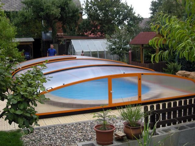 zastřešení bazénu 5x 3 m
